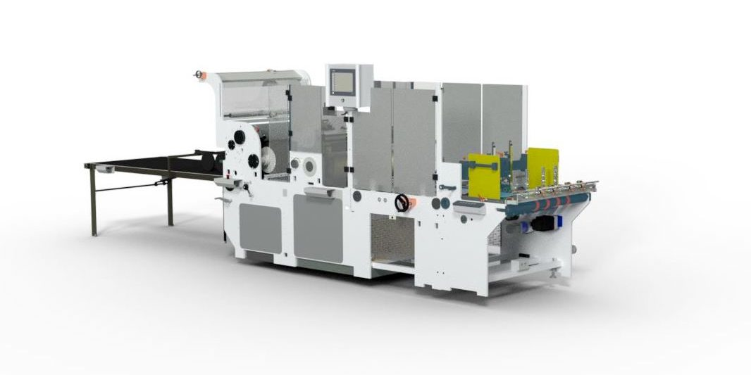The Digistar WP Comprises A Conventional Window Patching Section Typically Used For Applying Polyester And Acetate Film Patches To Carton Apertures.  The Machine Is Also Equipped With An Inline Notching And Scoring System For Producing Cut Creased Windows Inline, Directly From Reels Of APET or PVC, Eliminating An Additional Die Cutting Operation, Thus Saving Time And Money.  A Further Enhancement Of The Machine Is The Triofold System Whereby A Full Panoramic Window Can Be Applied To The Carton, Triofold Windows Can Completely Cover The Full Width Of The Carton Or Knife To Knife. Utilising This Feature Can Further Save On Printing And Die Cutting Operations And Material Costs Because A Greater Number Of Stations Can Now Be Printed